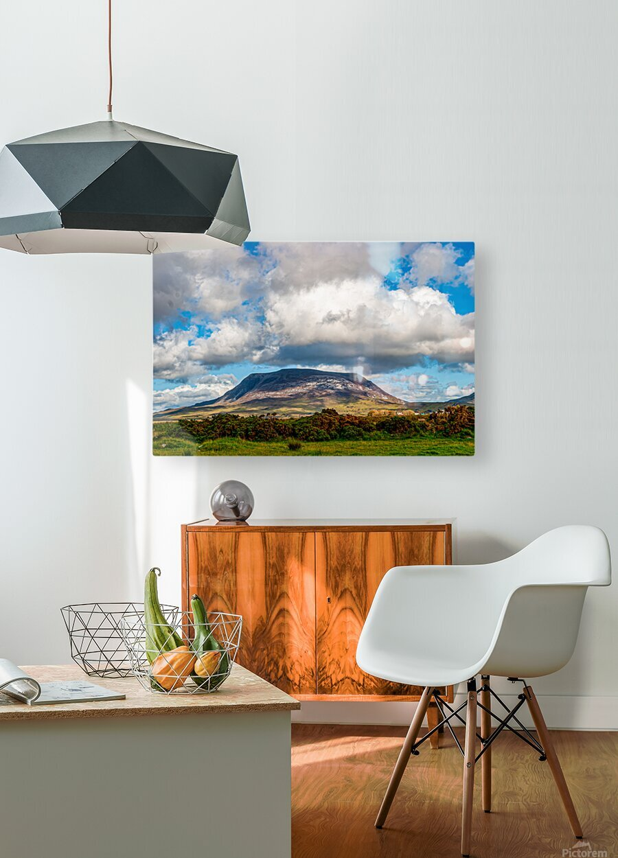 Muckish  HD Metal print with Floating Frame on Back