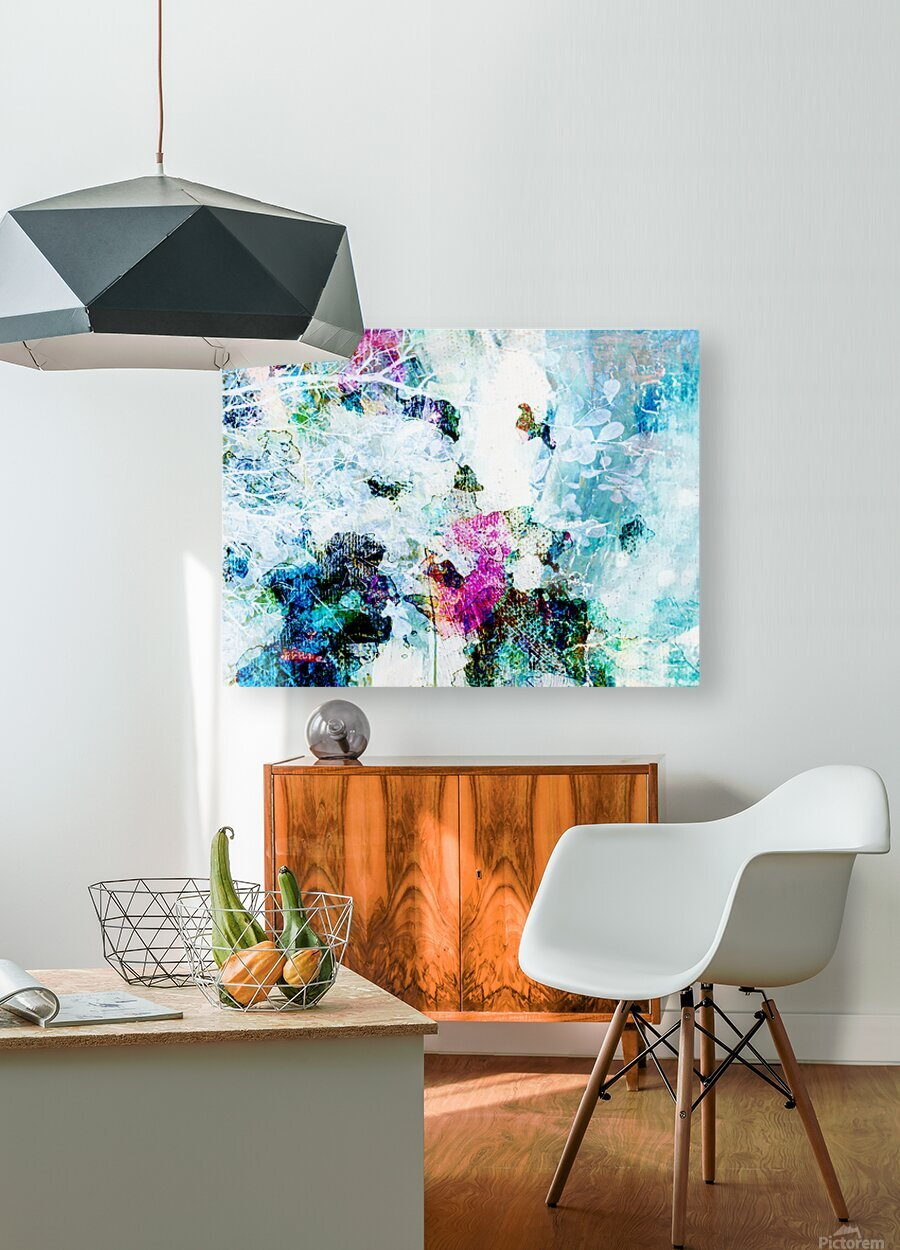 Promise of Spring - Horizontal   HD Metal print with Floating Frame on Back