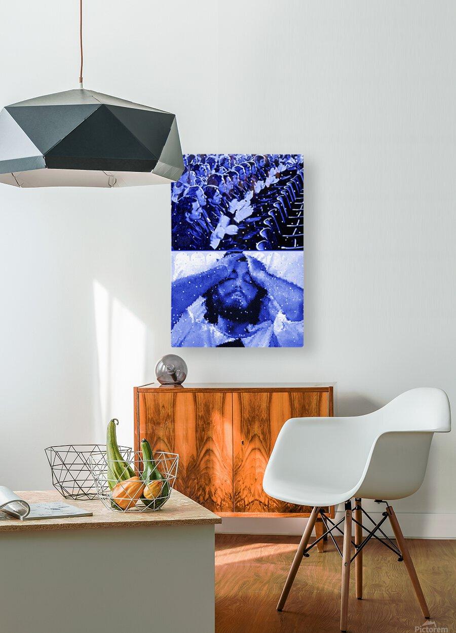 Serpico  HD Metal print with Floating Frame on Back