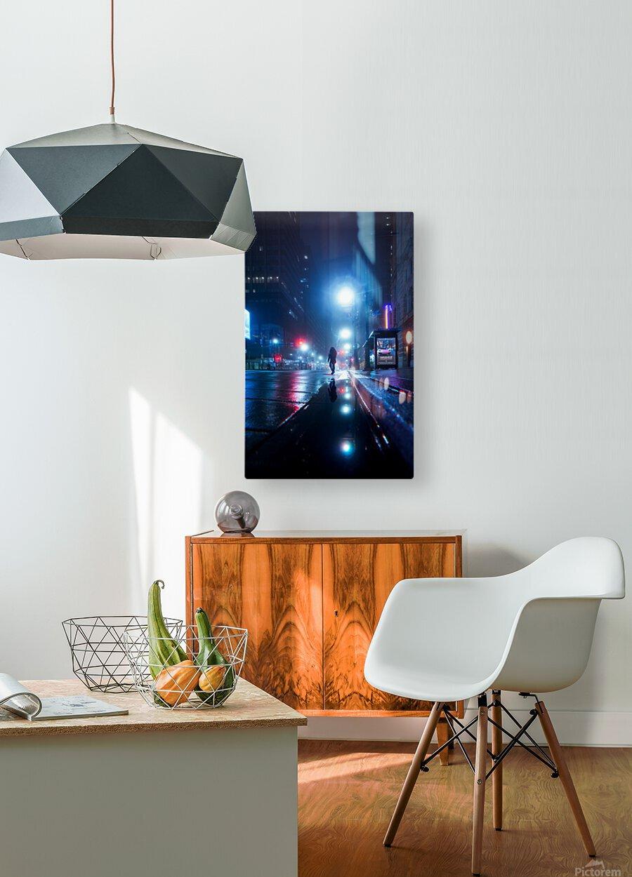 The Stranger  HD Metal print with Floating Frame on Back