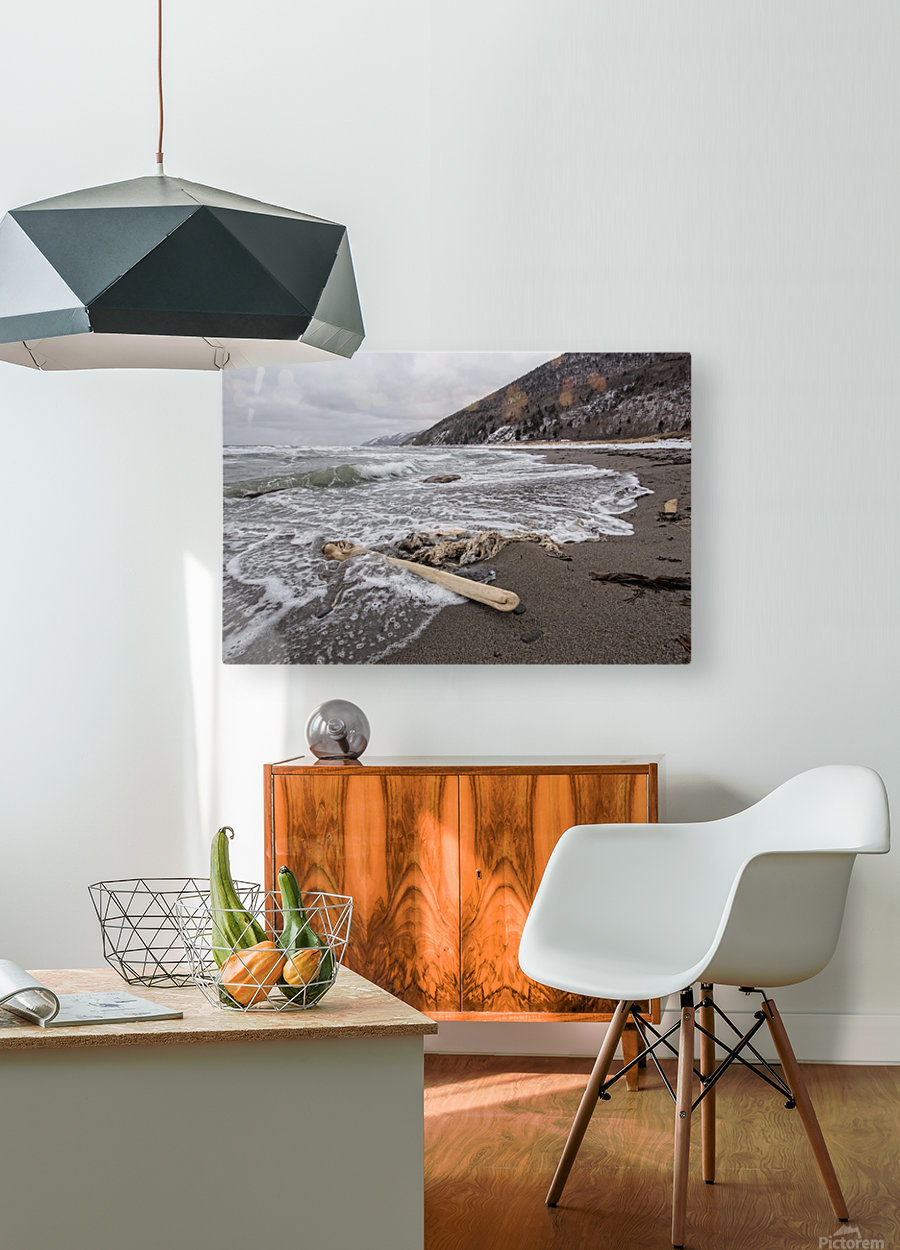 Back to the Seas  HD Metal print with Floating Frame on Back
