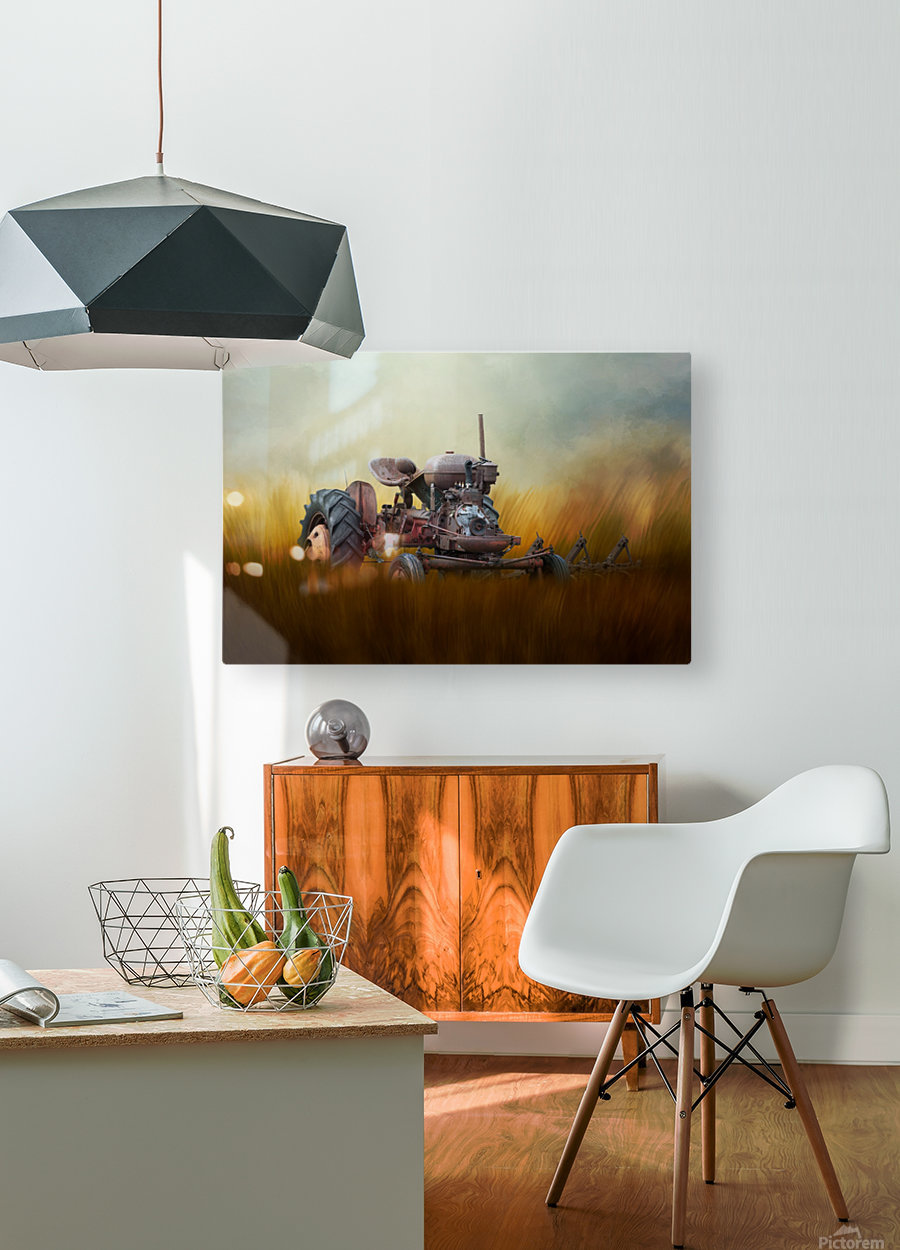 Seasons of the Past  HD Metal print with Floating Frame on Back