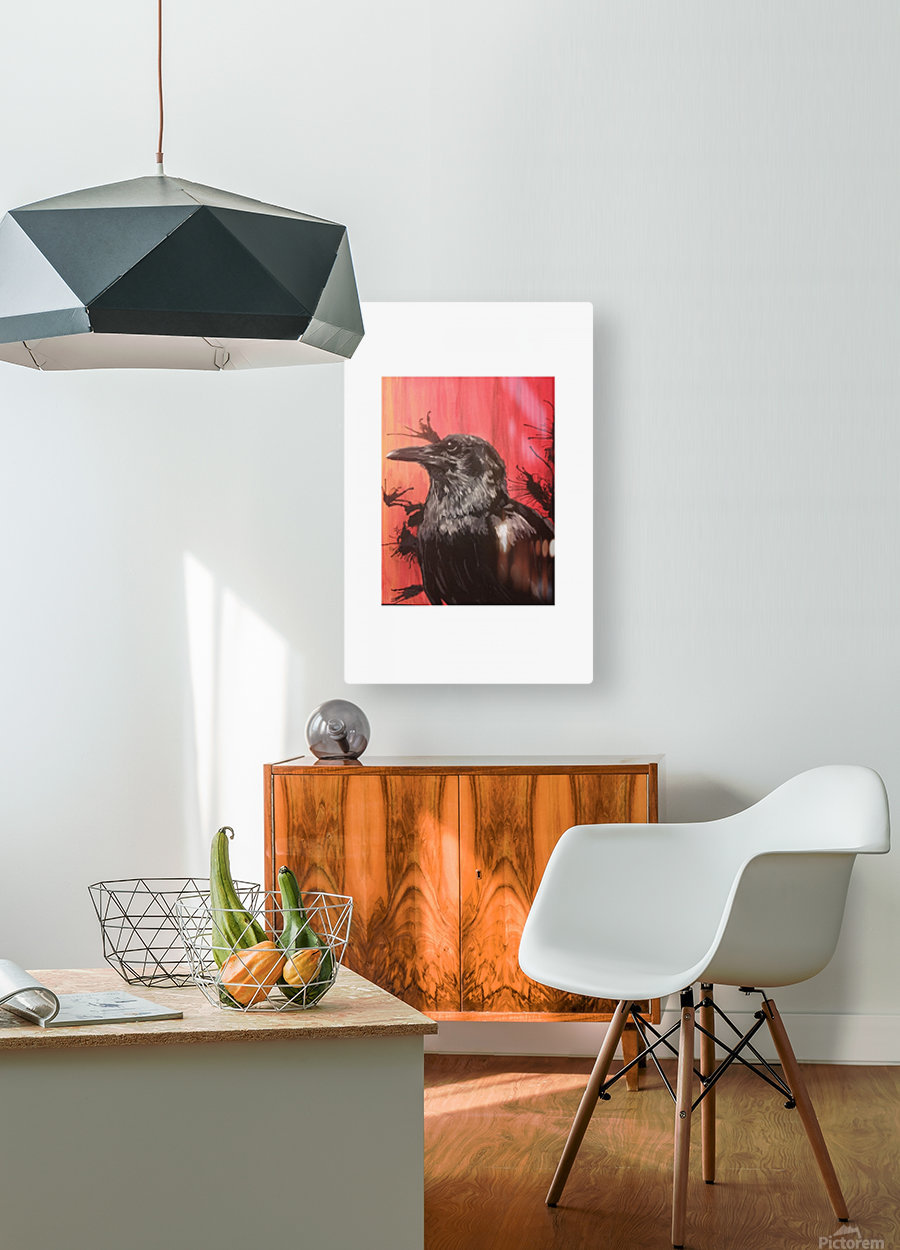 RBB  HD Metal print with Floating Frame on Back