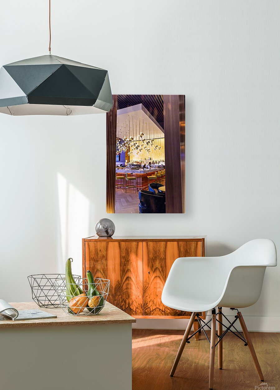 Buy Your Next Drink  HD Metal print with Floating Frame on Back