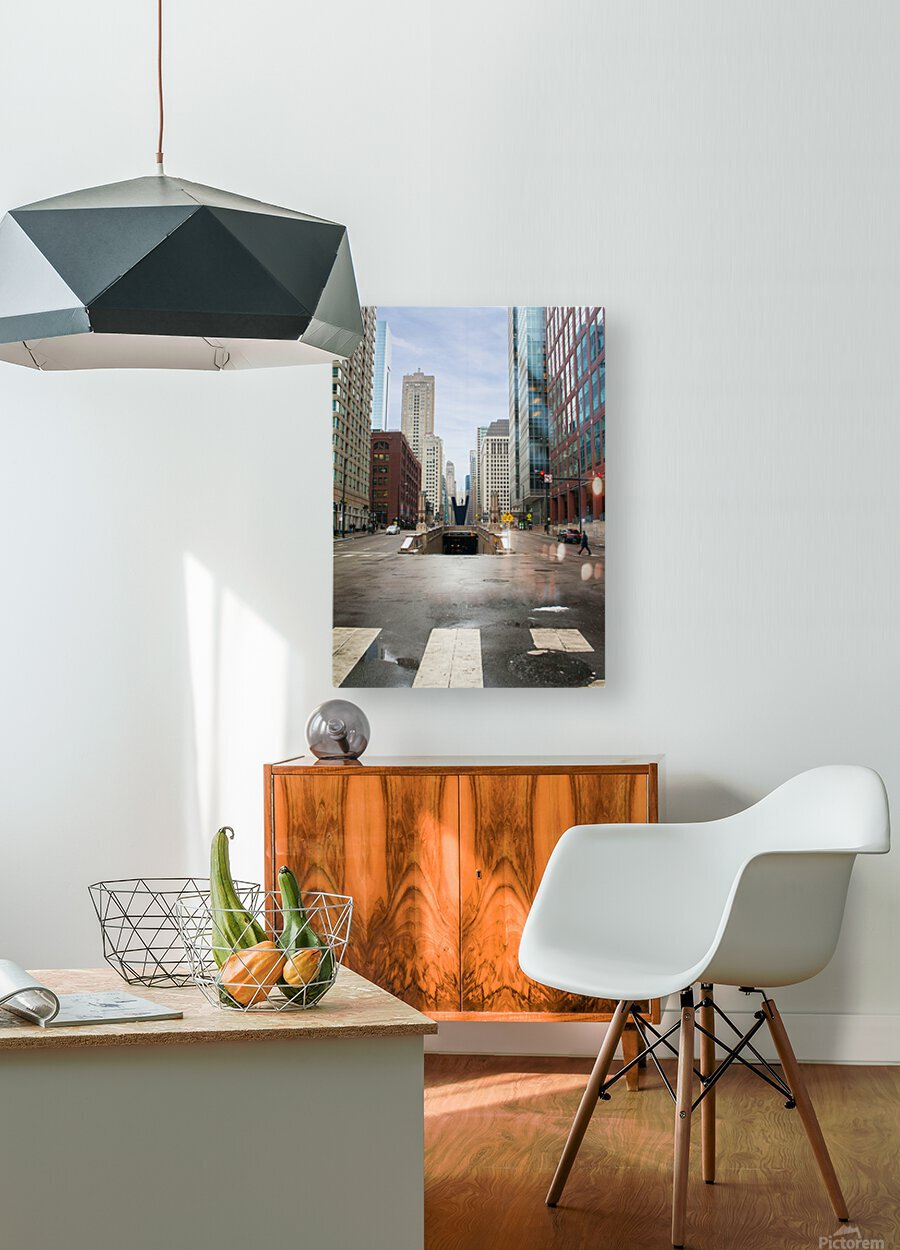 Underground  HD Metal print with Floating Frame on Back