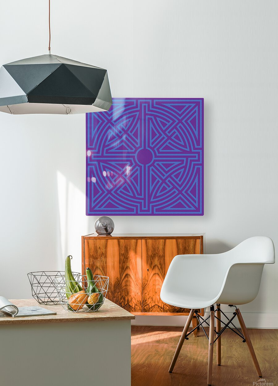 Labyrinth 6003  HD Metal print with Floating Frame on Back