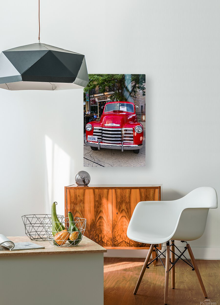 Tratitions  HD Metal print with Floating Frame on Back