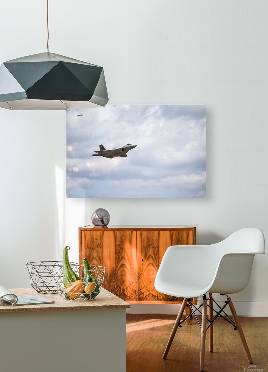 Military Pass  HD Metal print with Floating Frame on Back