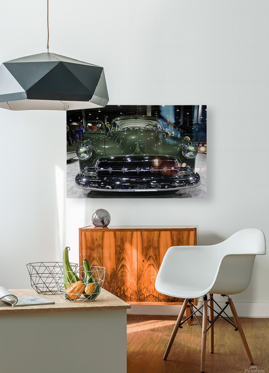 1950 Mercury  HD Metal print with Floating Frame on Back