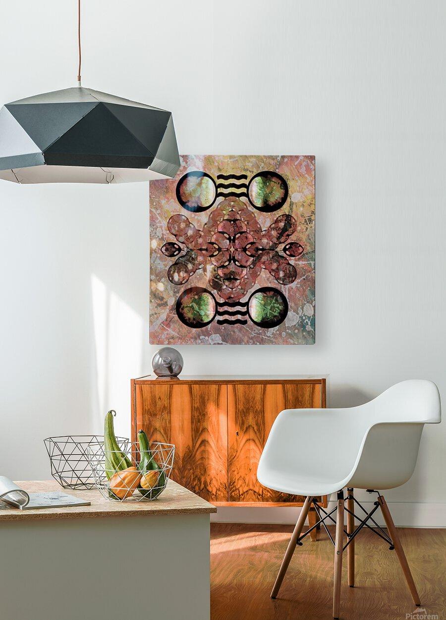 Hado Energy 20  HD Metal print with Floating Frame on Back