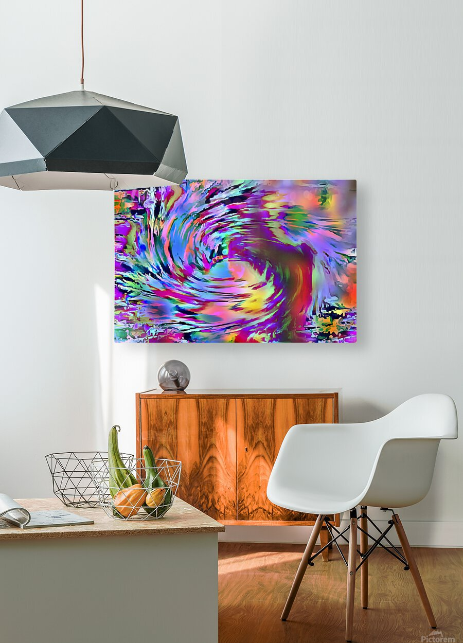 Love Comes Around  HD Metal print with Floating Frame on Back