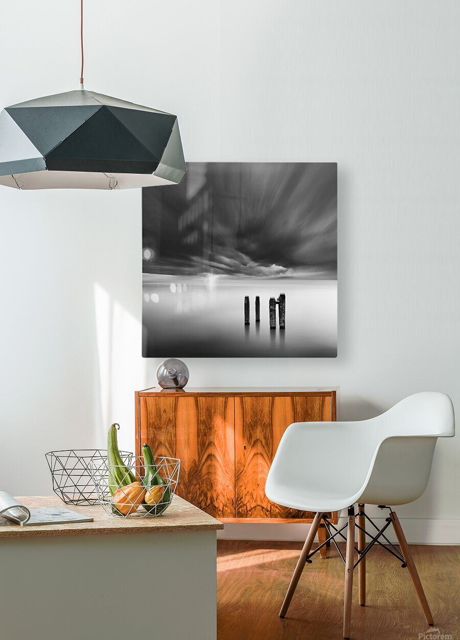 Time after Time  HD Metal print with Floating Frame on Back