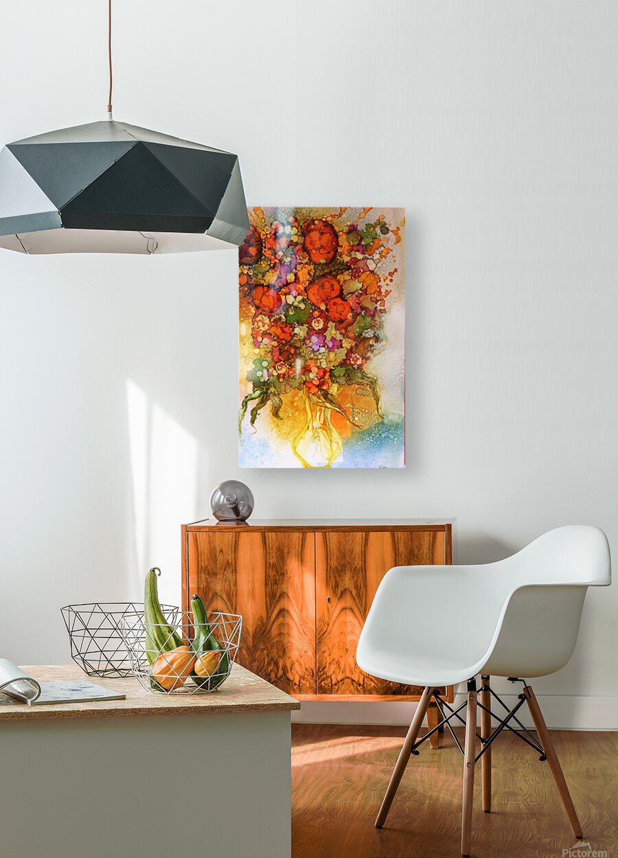 Luminosity  HD Metal print with Floating Frame on Back