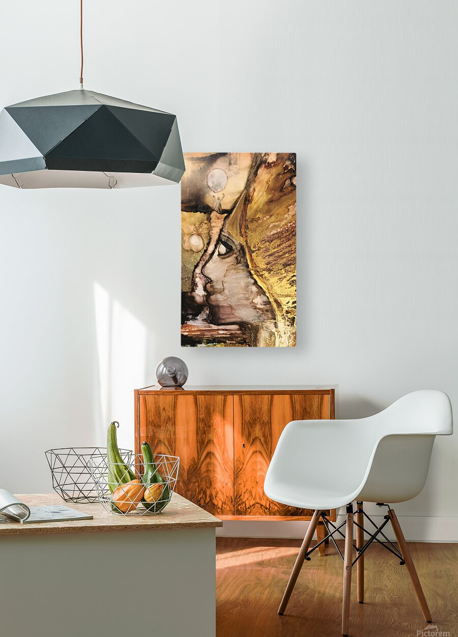 Activation   HD Metal print with Floating Frame on Back