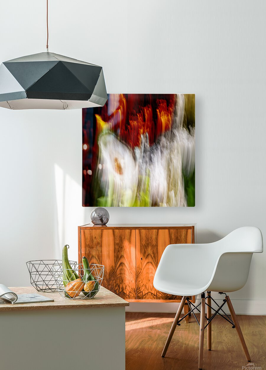 walk down Limited Edition of 5  HD Metal print with Floating Frame on Back