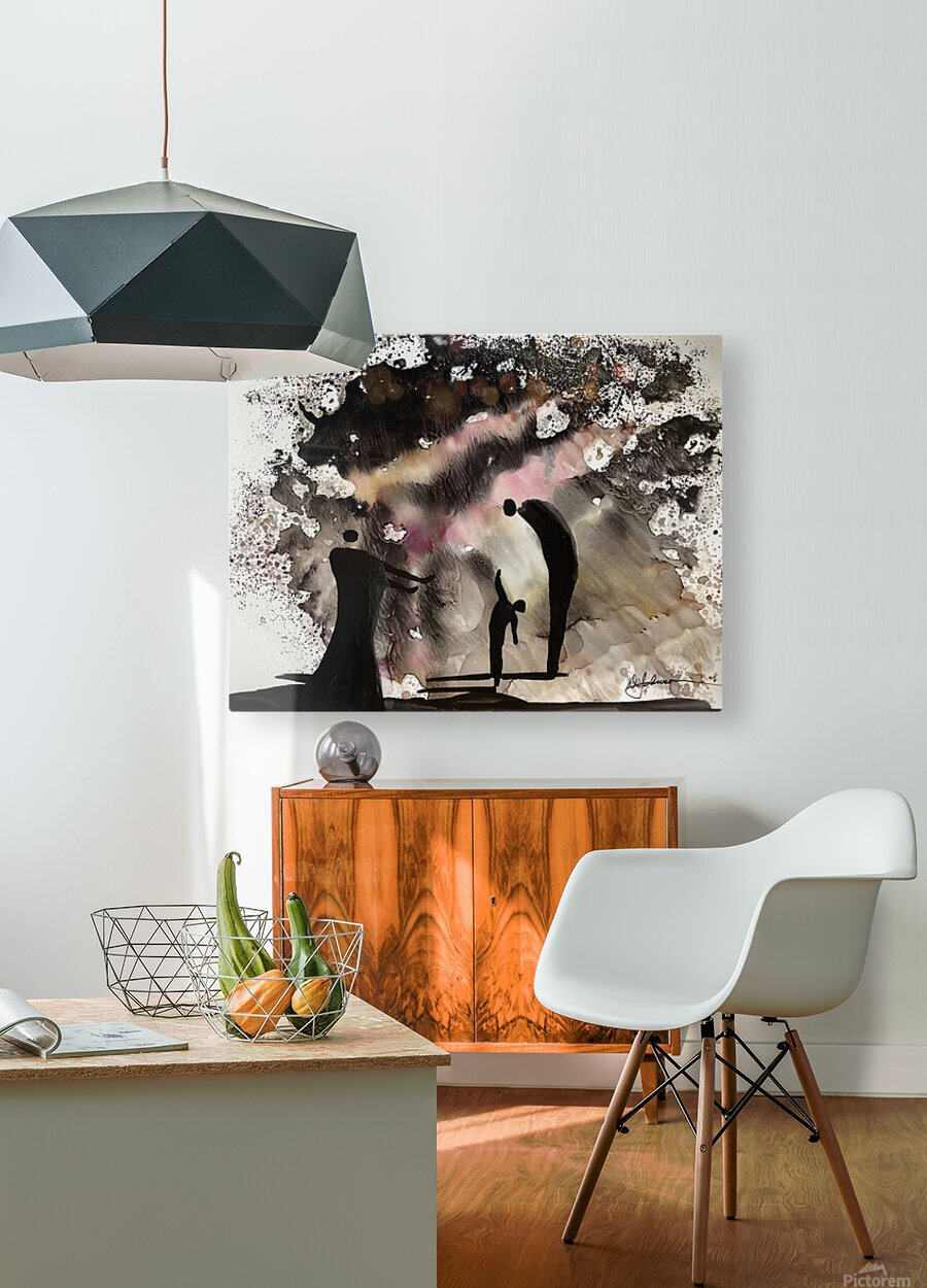 Tall Tales  HD Metal print with Floating Frame on Back