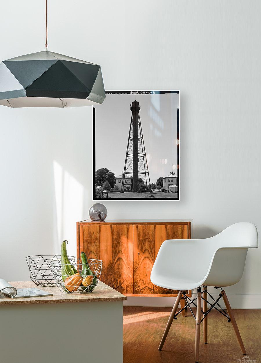 Liston-Range-Rear-Light-Delaware  HD Metal print with Floating Frame on Back