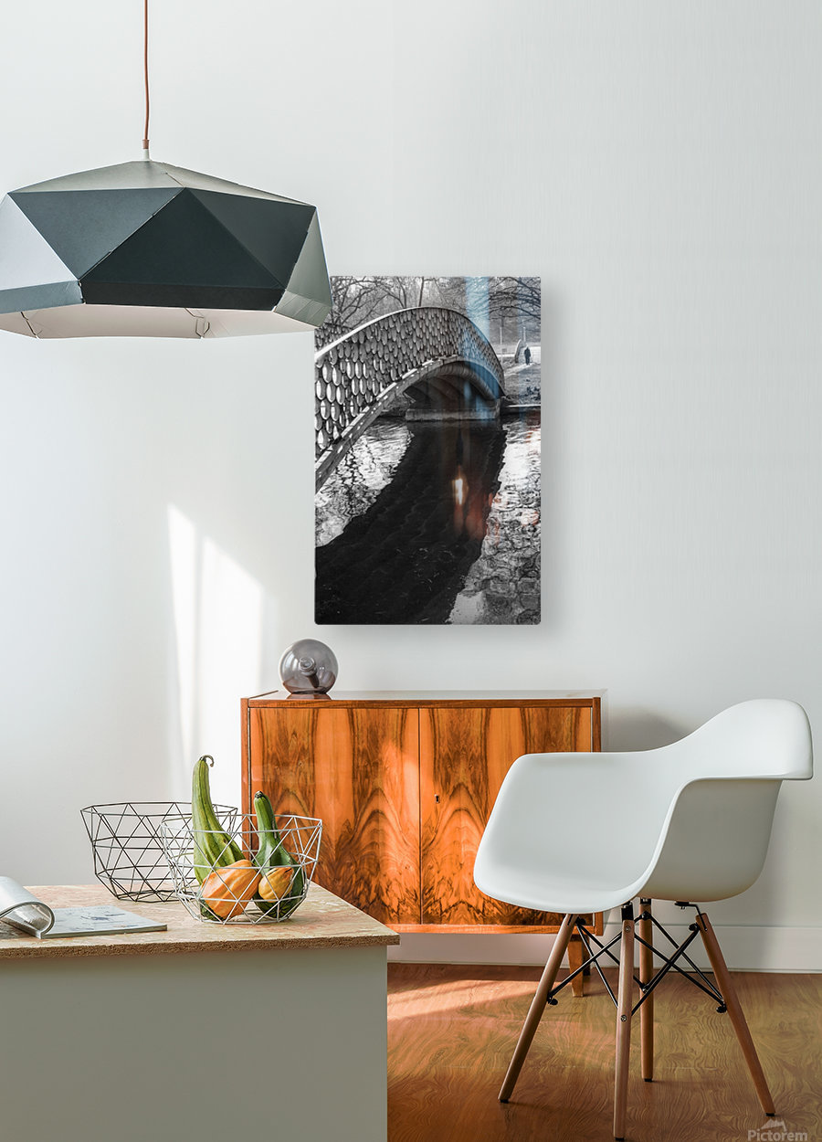 HOPE  HD Metal print with Floating Frame on Back