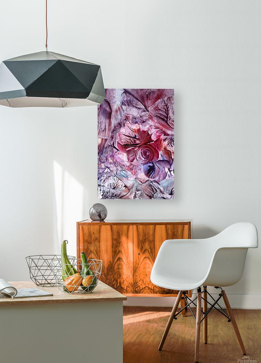 Eden afloat  HD Metal print with Floating Frame on Back