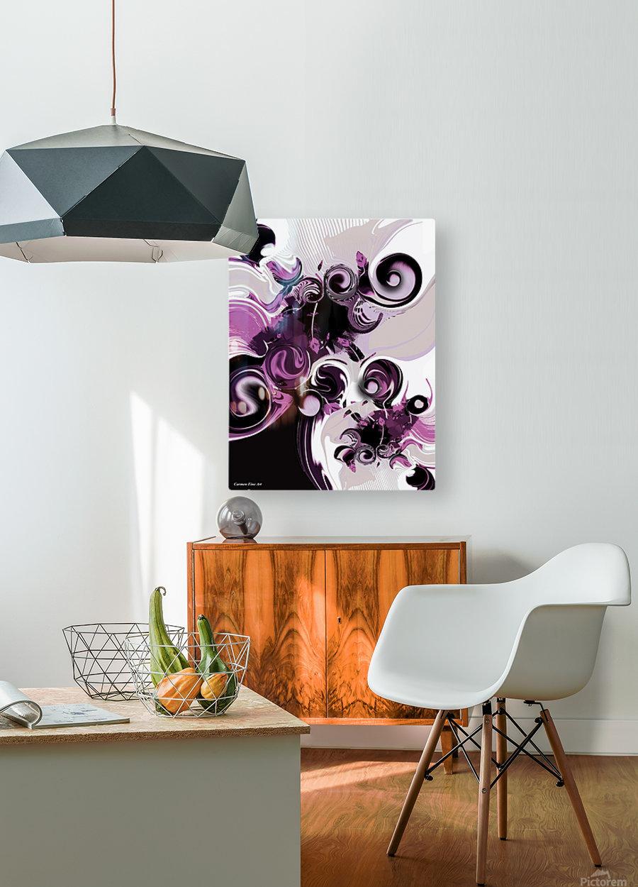 Vision of Emotional Information  HD Metal print with Floating Frame on Back