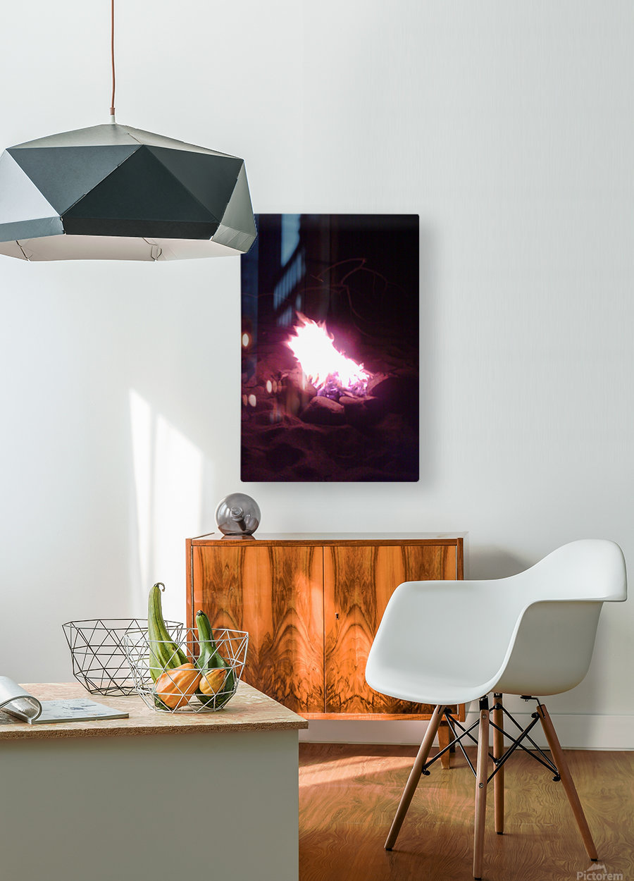 Fired  HD Metal print with Floating Frame on Back