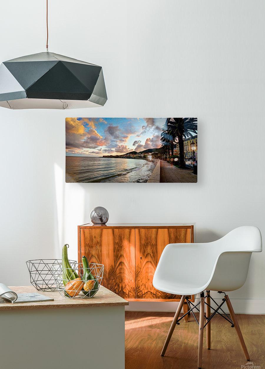 ajaccio  HD Metal print with Floating Frame on Back