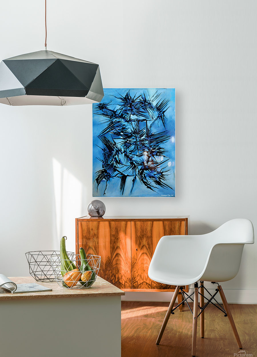 Sky vs Philosophy  HD Metal print with Floating Frame on Back