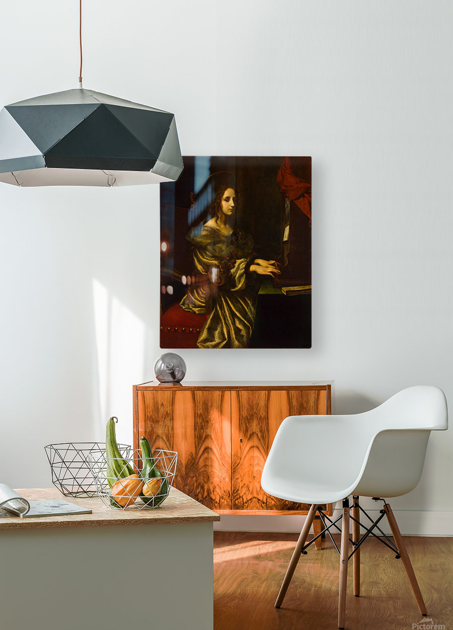 St Cecilia  HD Metal print with Floating Frame on Back