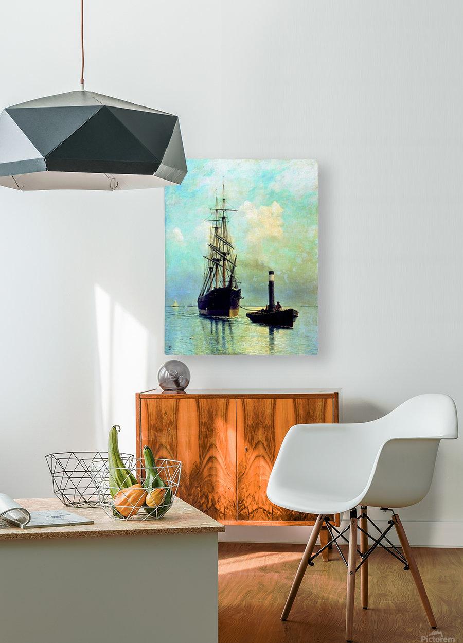 Finskom zalive  HD Metal print with Floating Frame on Back