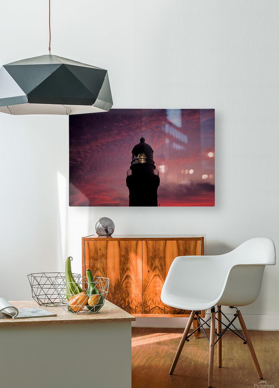 landscape_2_0026  HD Metal print with Floating Frame on Back