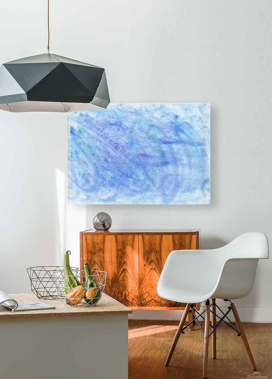Sea  HD Metal print with Floating Frame on Back