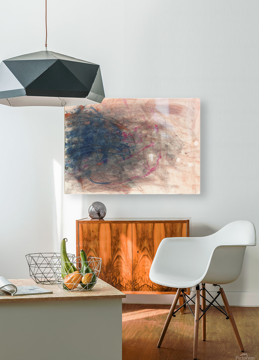 Unpaired  HD Metal print with Floating Frame on Back