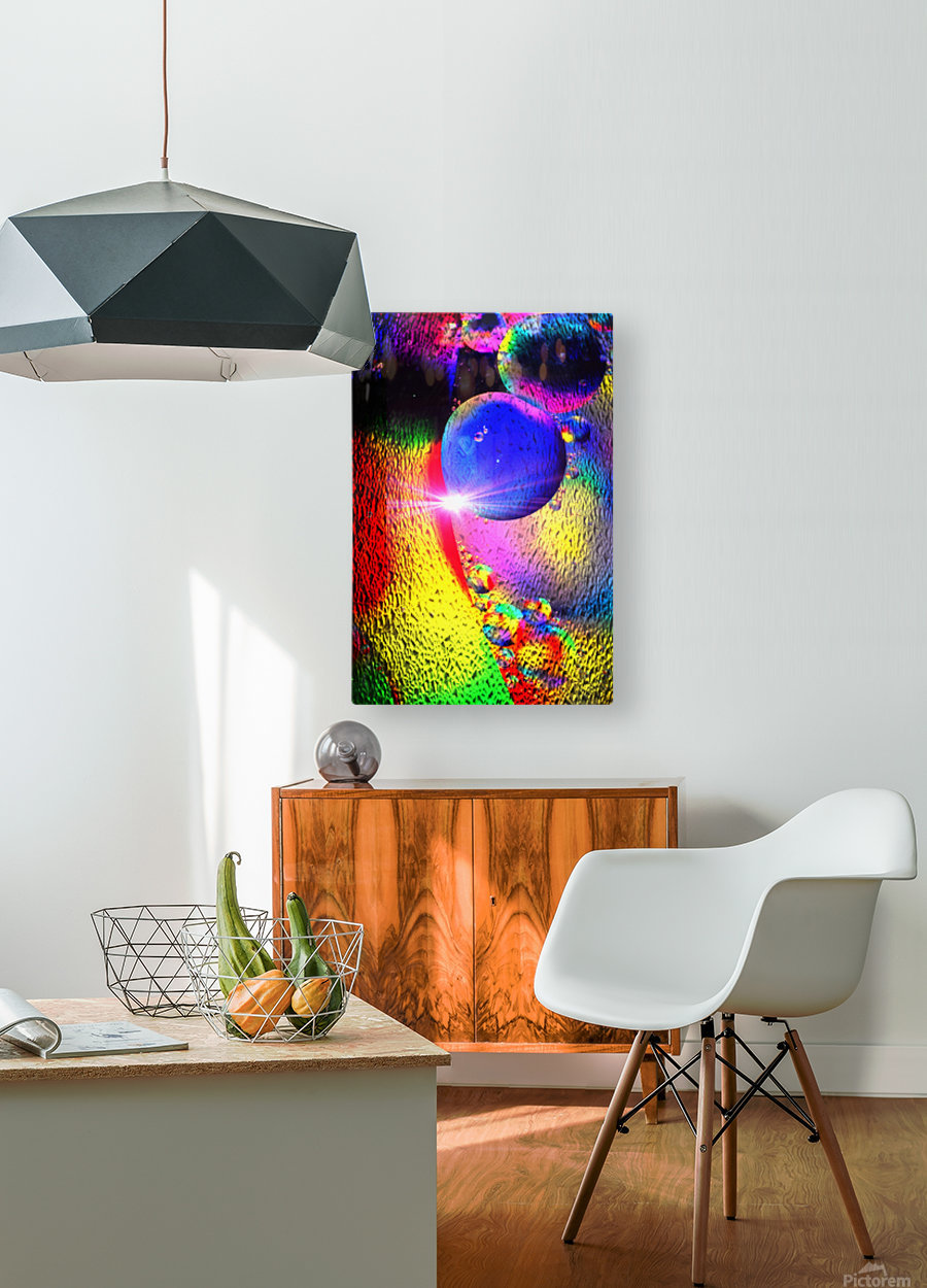 Star Bright  HD Metal print with Floating Frame on Back