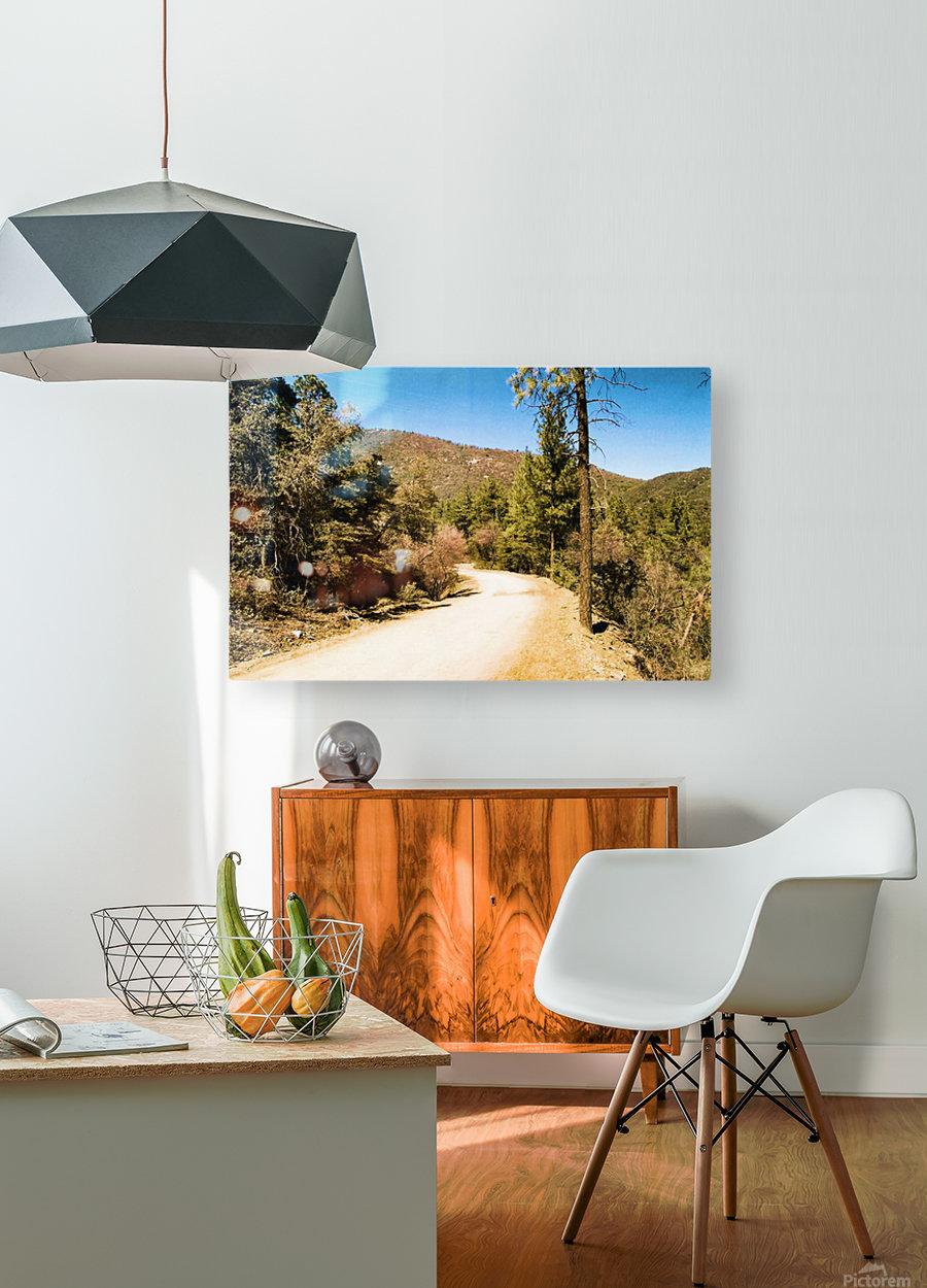 Almost Heaven Arizona  Impression métal HD avec cadre flottant sur le dos
