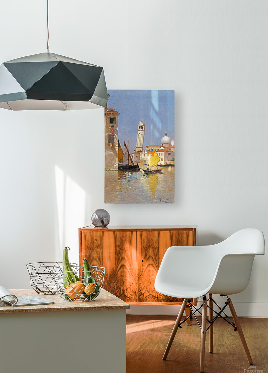 San Pietro di Castello  HD Metal print with Floating Frame on Back