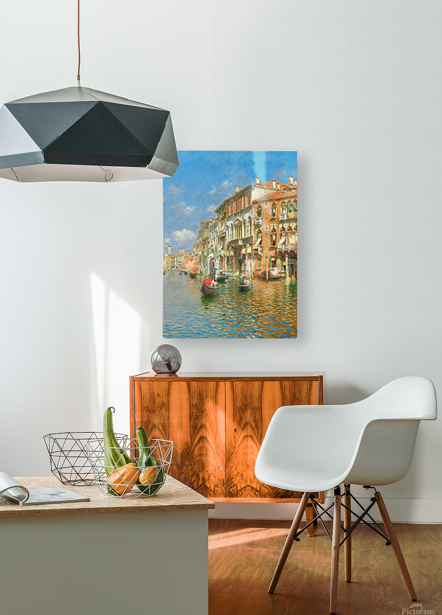 Palazzo Contarini Dalle Figure  HD Metal print with Floating Frame on Back