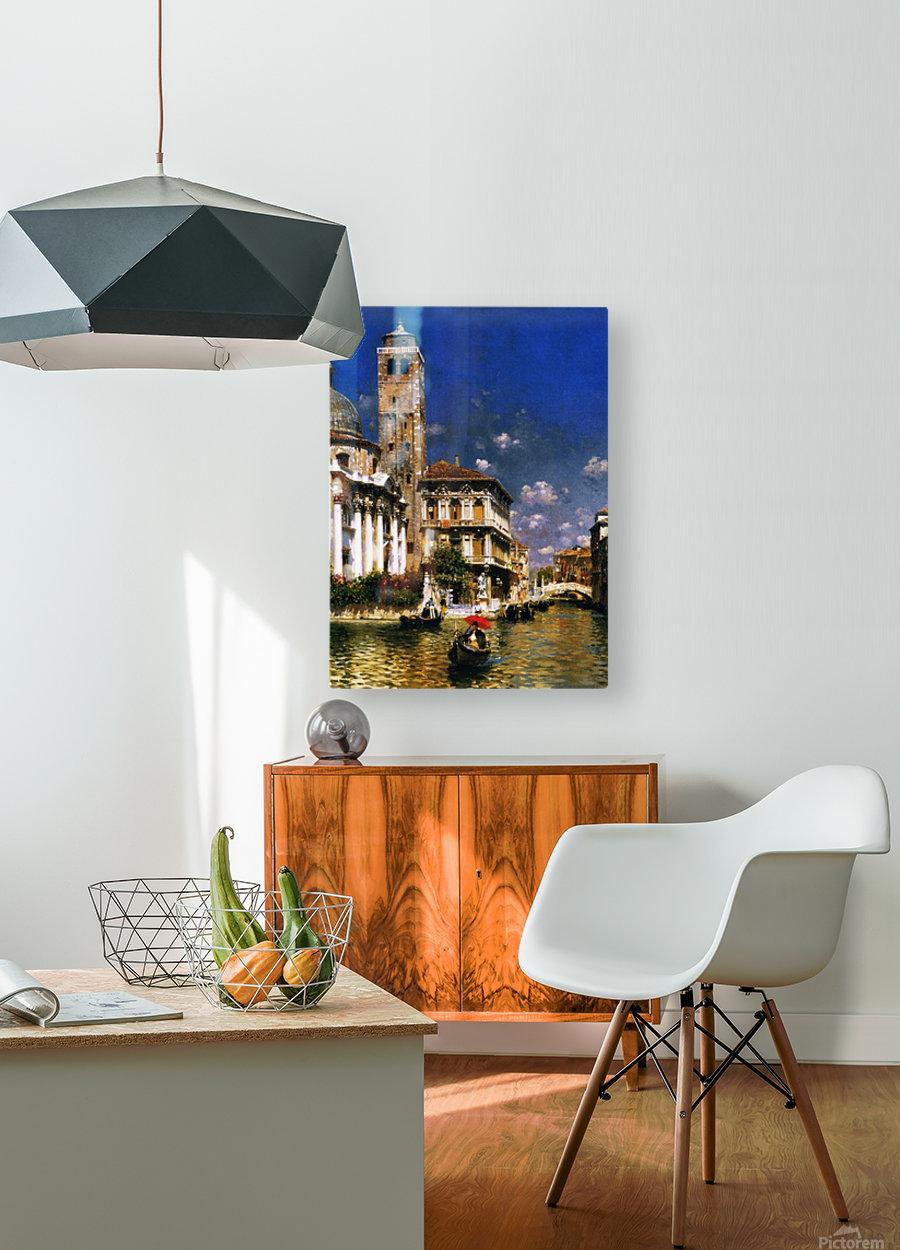 San Geremia, with Palazzo Labia, Venice  HD Metal print with Floating Frame on Back