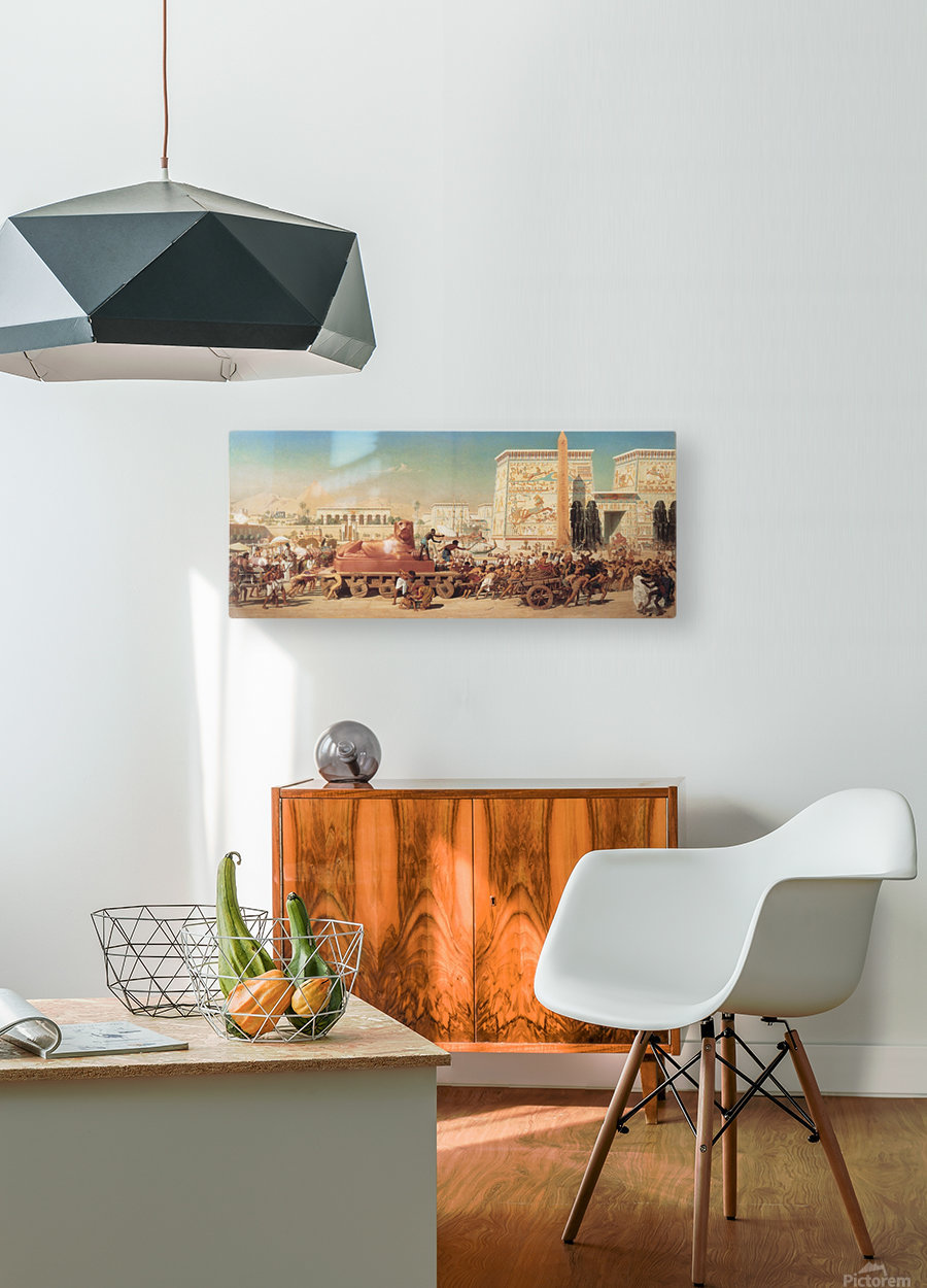 Israel in Egypt  HD Metal print with Floating Frame on Back