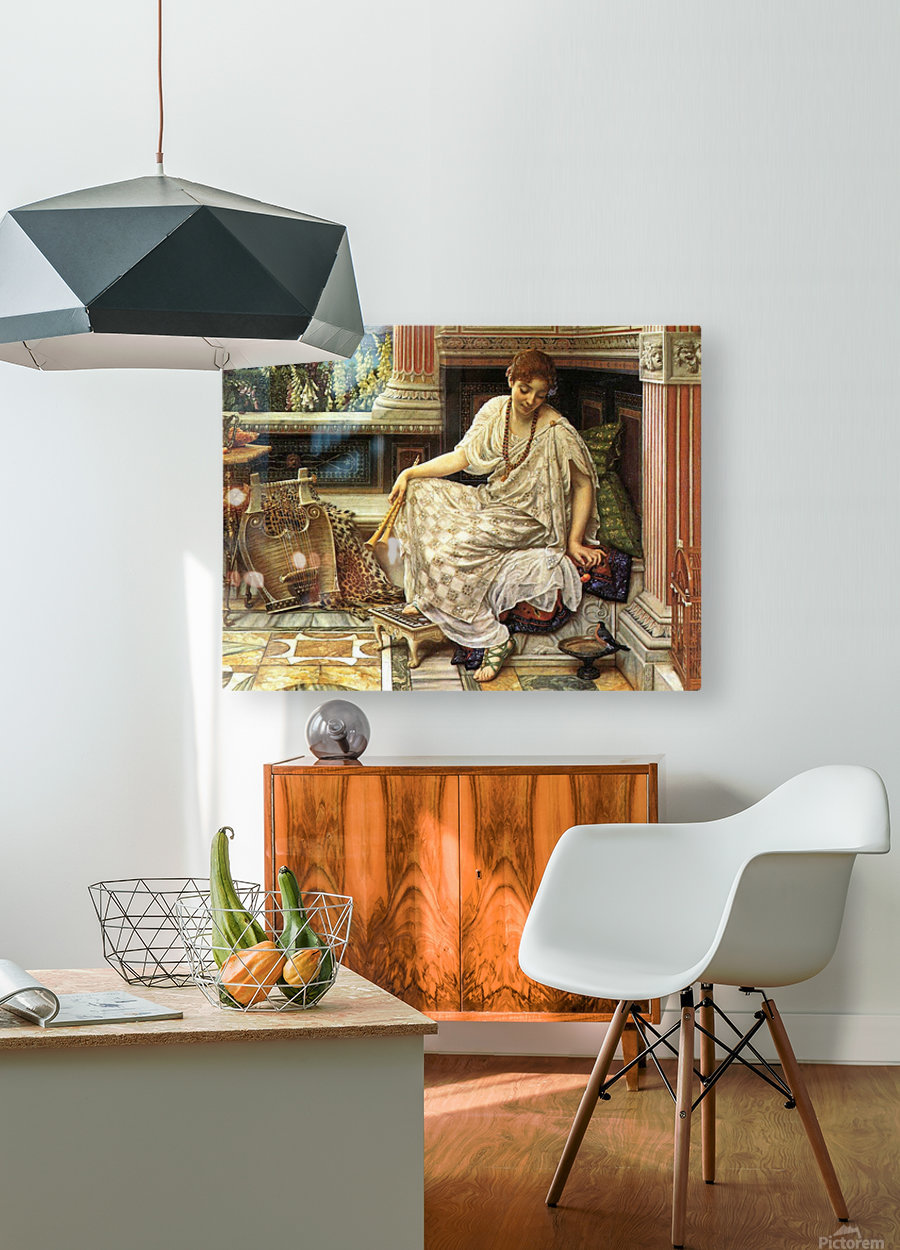 Chloe, Dulces Docta Modos et Citharae Sciens  HD Metal print with Floating Frame on Back
