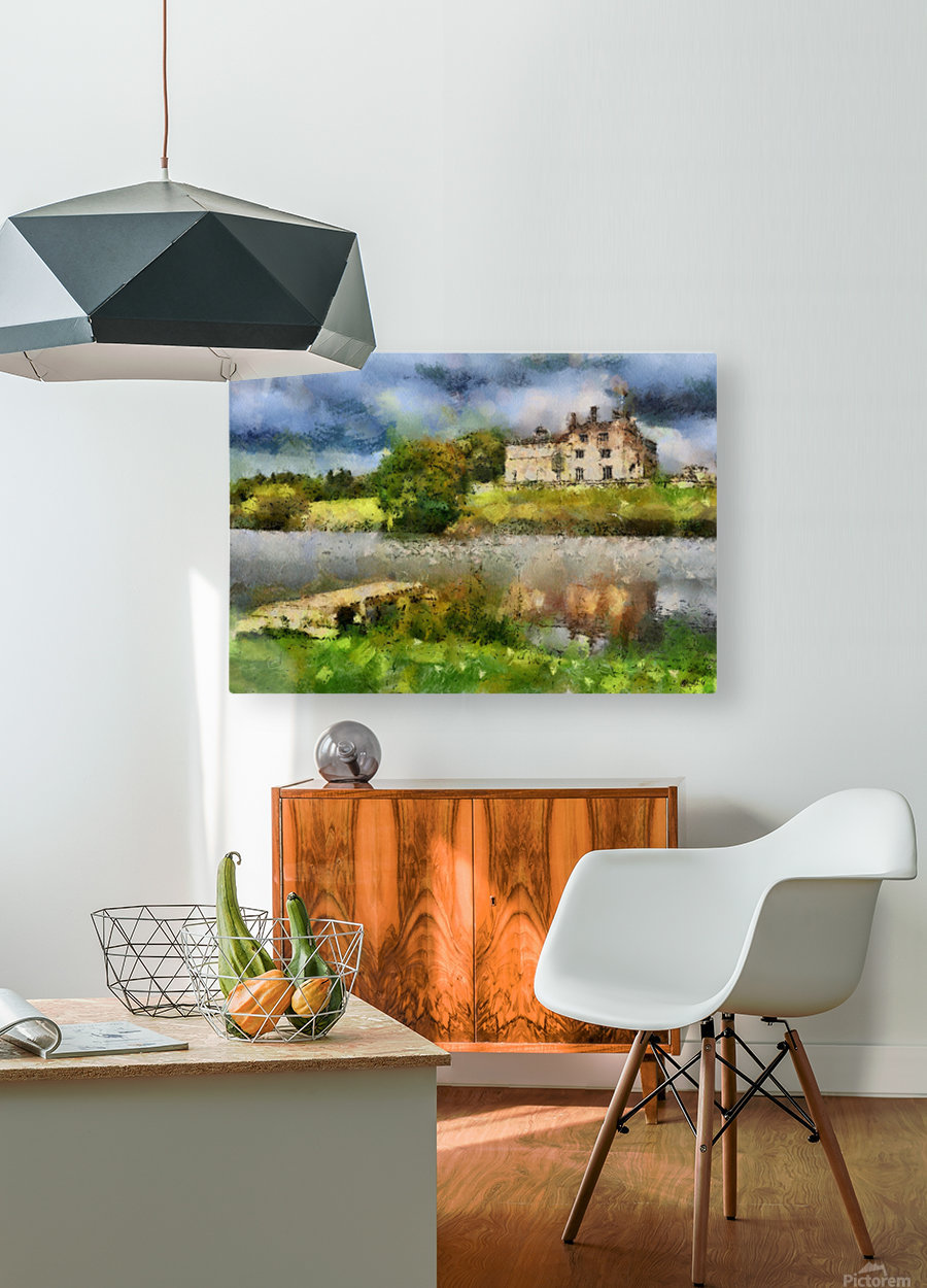 RIPLEY CASTLE 2  HD Metal print with Floating Frame on Back