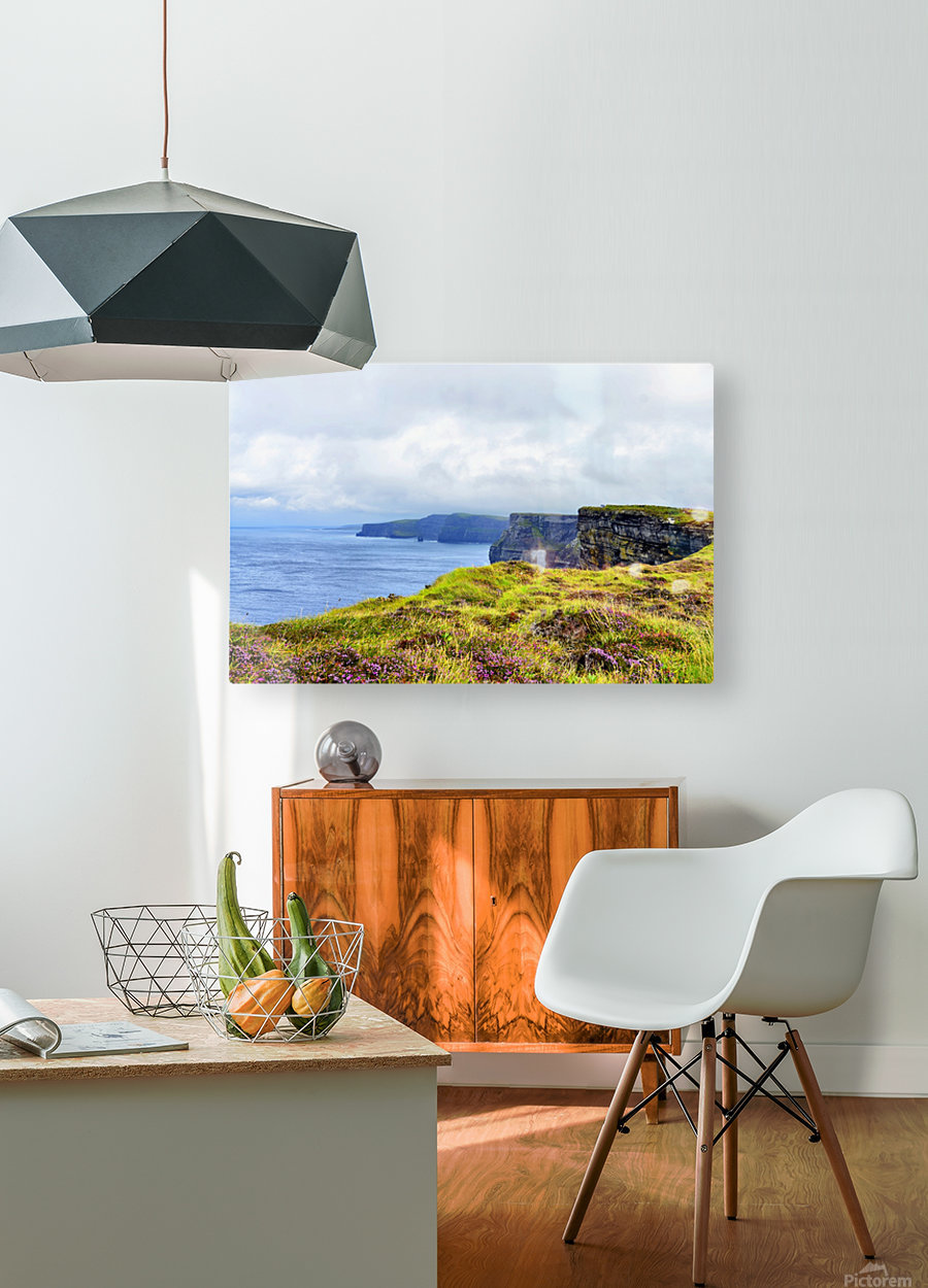 CLIFFS OF MOHER 10  HD Metal print with Floating Frame on Back