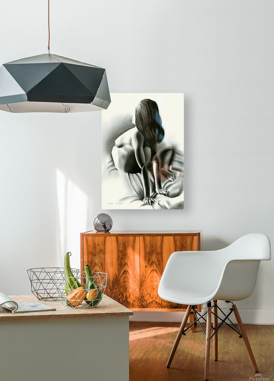Nude - 03-06-16  HD Metal print with Floating Frame on Back