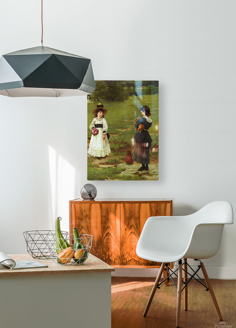 The Town and Country Mouse  HD Metal print with Floating Frame on Back