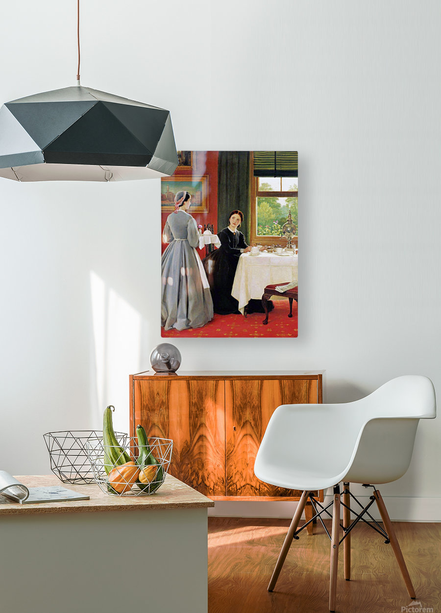 Afternoon Tea  HD Metal print with Floating Frame on Back