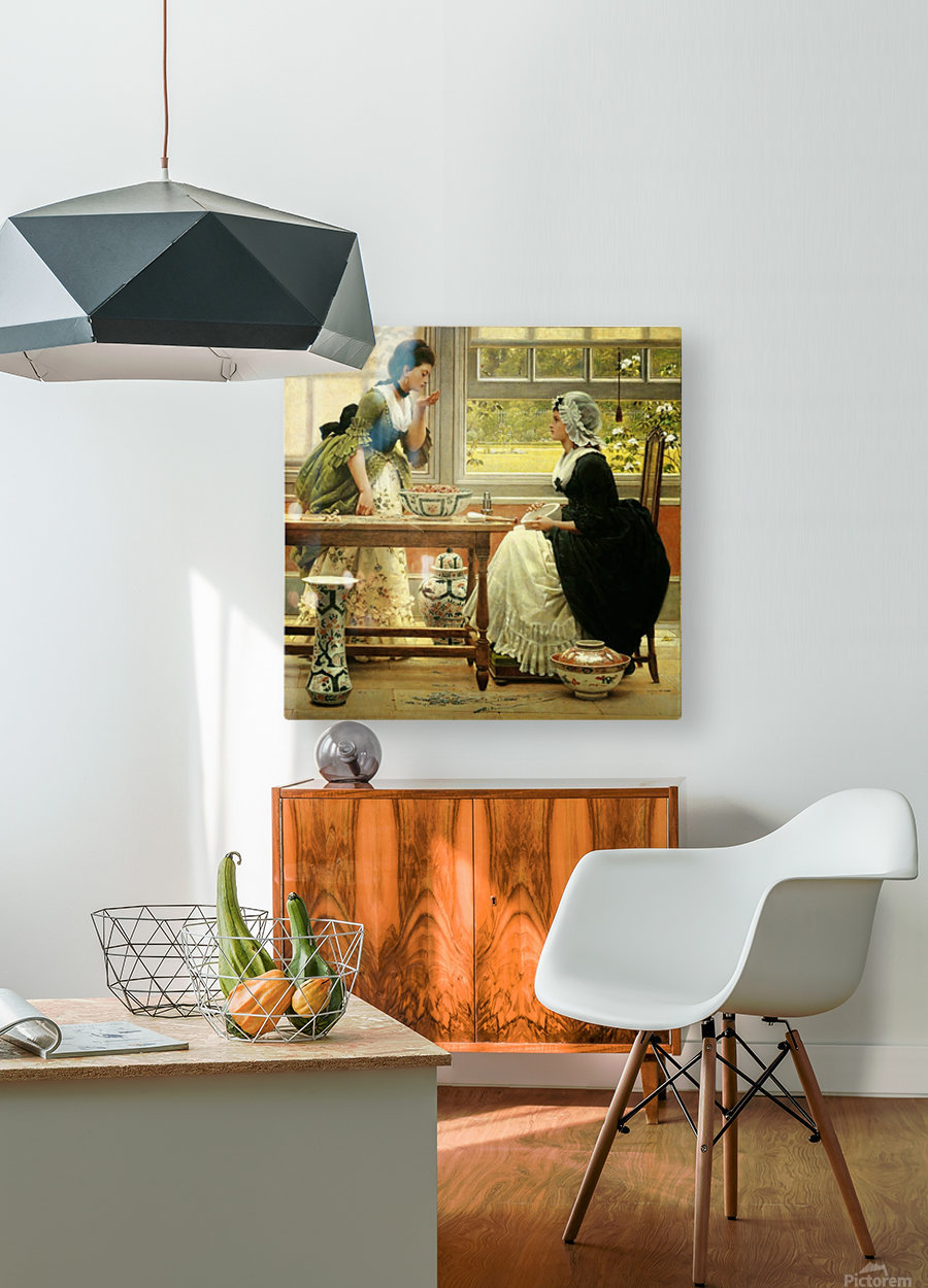 Pot-Pourri  HD Metal print with Floating Frame on Back