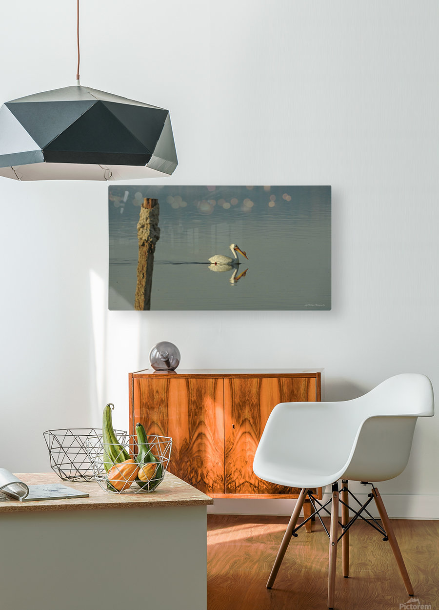 Offshore  HD Metal print with Floating Frame on Back