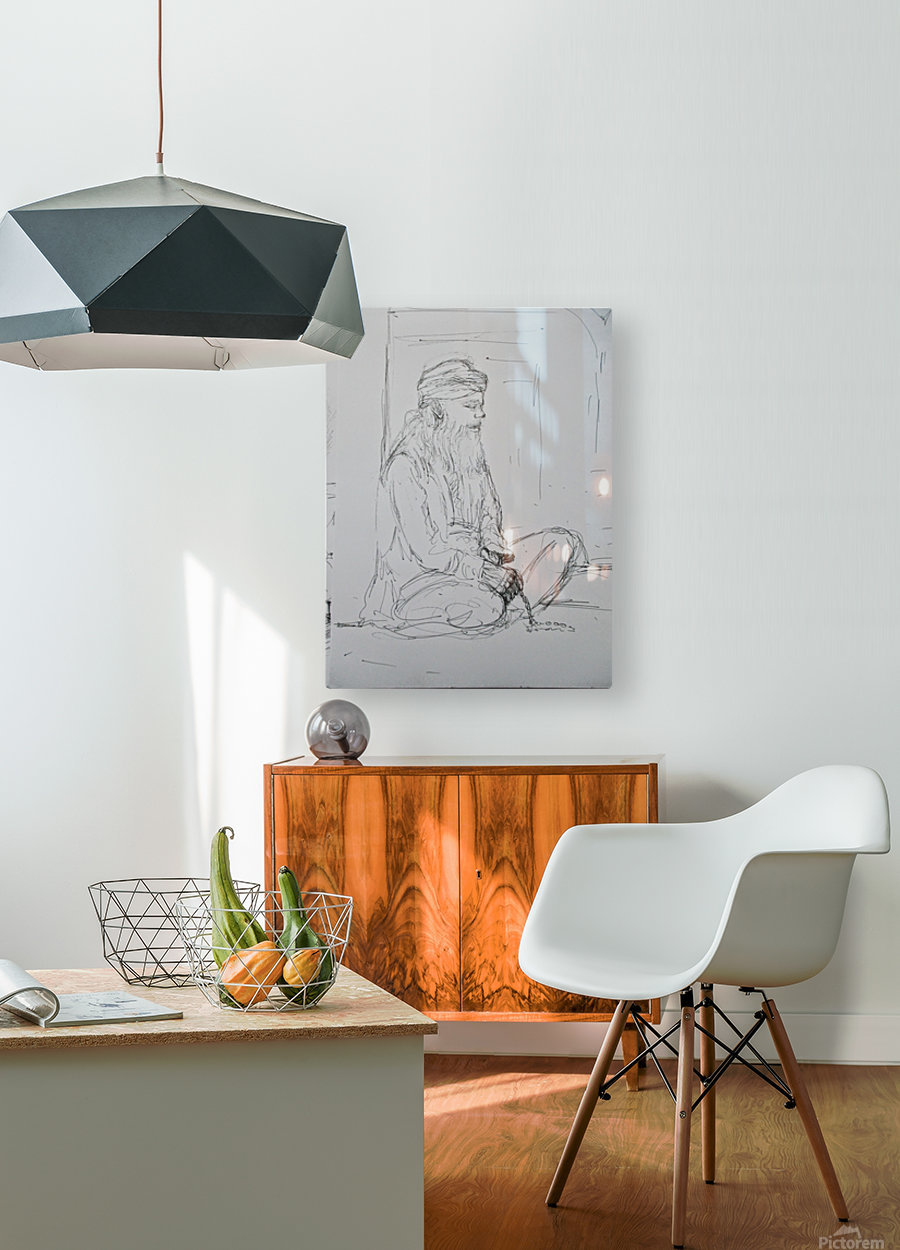 darvesh  HD Metal print with Floating Frame on Back