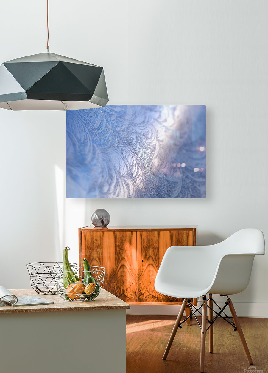 Whorls  HD Metal print with Floating Frame on Back