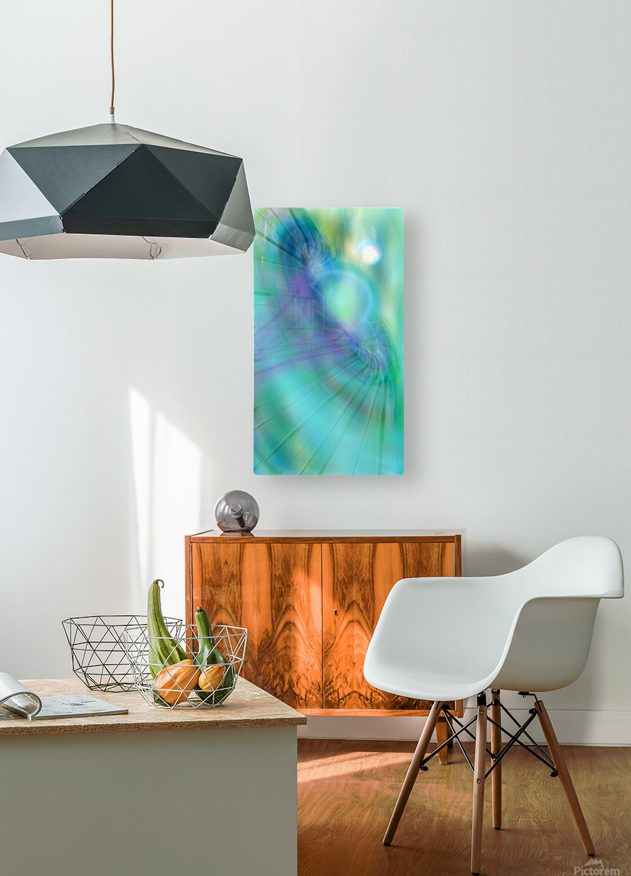The Hole  HD Metal print with Floating Frame on Back