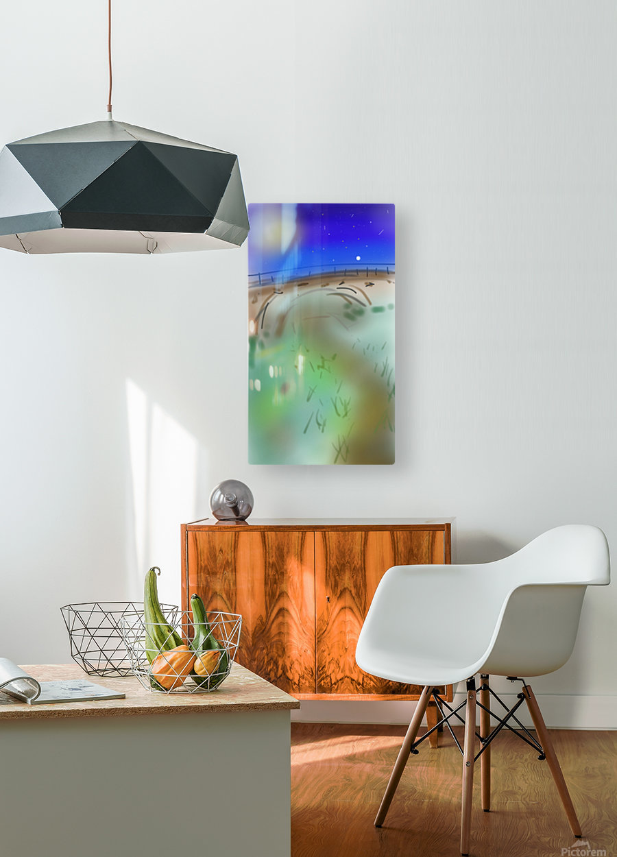 Under a Bridge  HD Metal print with Floating Frame on Back